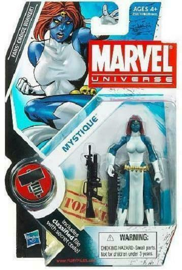 """Marvel Universe Mystique 3.75/"""" Series 2 # 029 X-Men NEW 2010 Action Figure Toy"""