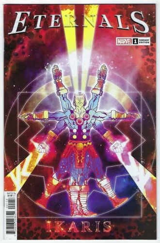 Eternals # 1 Superlog Variant Cover NM Marvel