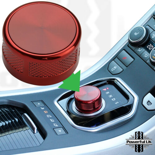 HSE Luxury Style Rouge Rotatif Gear shift Selector Land Rover Discovery Sport