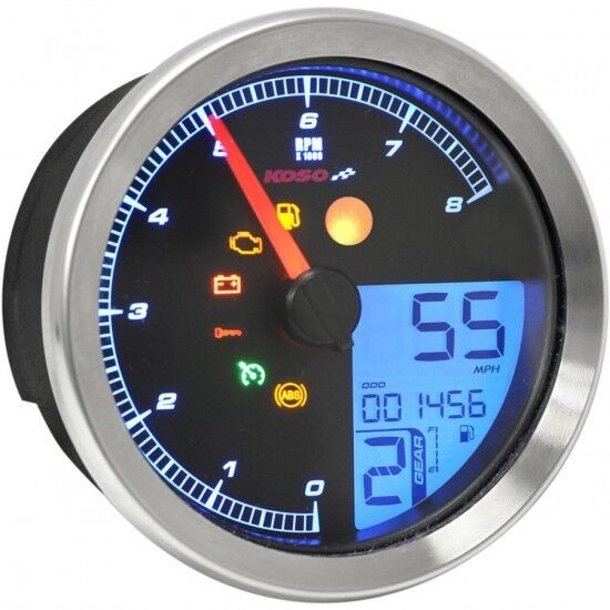 Tach Multi METR hd-04 sil - koso north Amerika BA051200