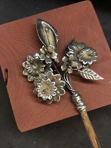 Bastone San Giuseppe 40 Cm Giglio calla fiorito Presepe per San Giuseppe