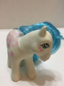 "Vintage Hasbro My Little Pony Twice as Fancy ""Fifi"" 1987 Pink Bows Hong Kong"