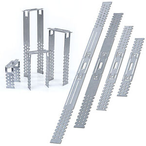 Direktabhänger 125 mm für Holzlatten 50 Stück Trockenbau Deckenabhänger