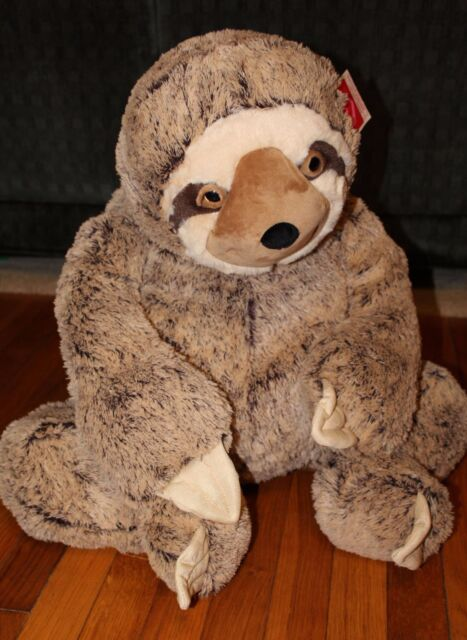 Large Sloth Plush 36 Big Stuffed Animal Gift Huge Giant Jumbo Xl