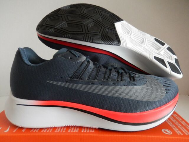 b39080e0415e Nike Zoom Fly Mens Running Shoes 13 Blue Fox Bright Crimson 880848 ...