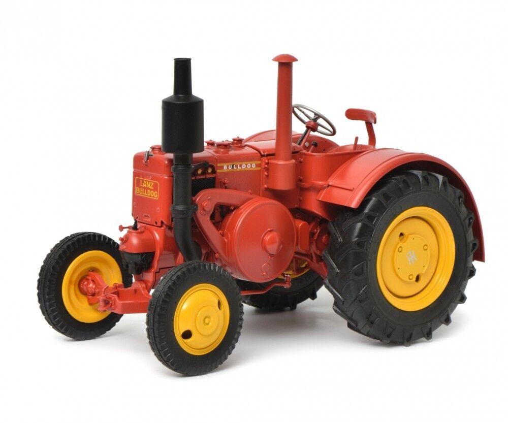 Schuco 1 18 K.L. Bulldog rouge Tractor 450011700