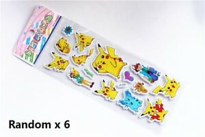 6-Pokemon-Pikachu-Sticker-Sheets-Birthday-Party-Loot-Lolly-Favor-Bag-Filler