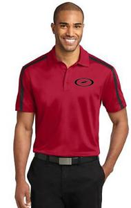 Storm Men's Furious Performance Polo Bowling Shirt Dri-Fit Red