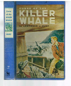 Curse-of-the-Killer-Whale-by-Lawrence-Hunt-1963-1st-Ed-Rare-Book