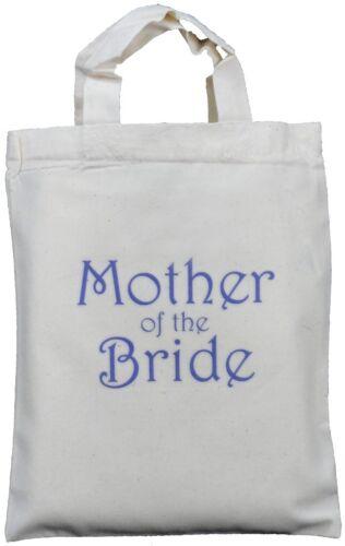 Mère de la mariée-Petit Sac Cadeau Coton-Mariage faveur poule nuit-Violet