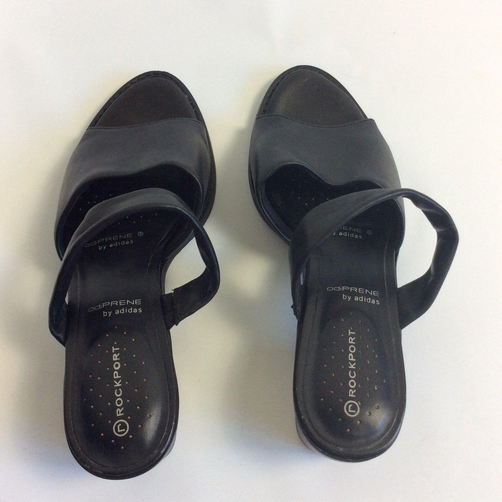 Rockport Adiprene by Adidas Sandales Femme K56015 Noir Taille US8 UK5.5 EUR38.5