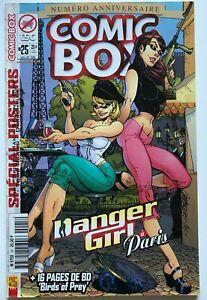 Comic Box 25 Danger Girl in Paris J Scott Campbell George Perez HTF French VF