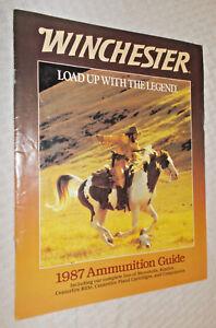 Initiative 1987 Winchester Munitions Guide-cartouches, Annulaire, Percussion Fusil Pistolet-afficher Le Titre D'origine Divers ModèLes RéCents