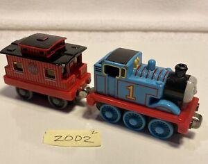2002 Thomas & Sodor Caboose  - Thomas & Friends Take N Play Along Diecast Train