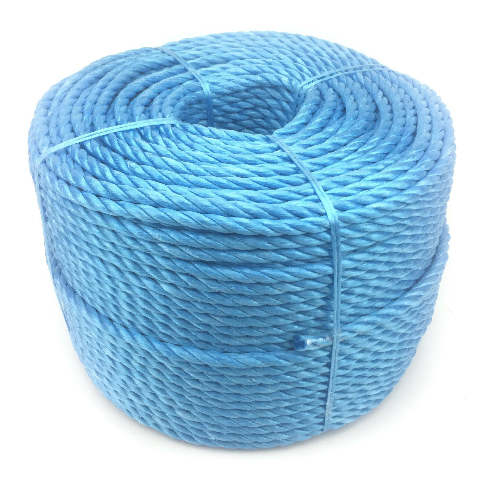 18mm bluee Polypropylene Rope x 40 Metres, Poly Rope Coils, Cheap Nylon Rope