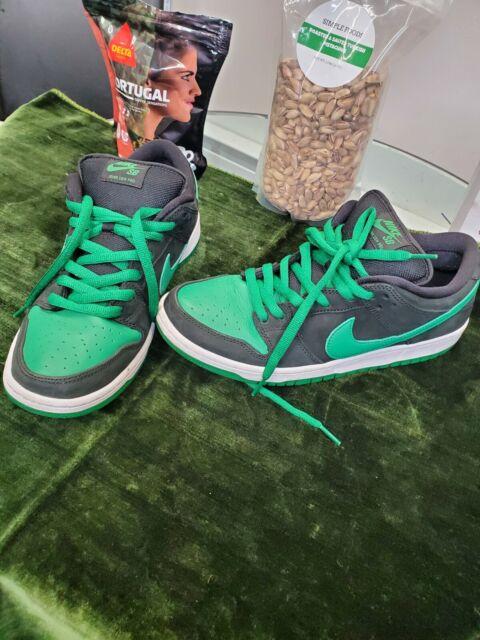 Nike SB Dunk Low Pro Pine Green /black J Pack Men's Sz 10 BQ6817-005 Ships Fast