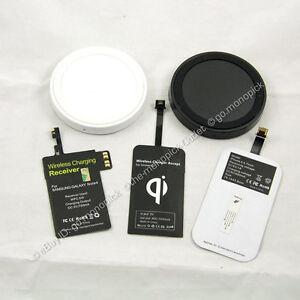 Cargador-inalambrico-Qi-almohadilla-de-carga-circular-Receptor-para-Samsung-HTC-LG-Nokia-Sony