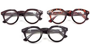 TN03 Stylish Retro Round Fashion Reading Glasses In 3 Colours10152025 - Hartley Wintney, United Kingdom - Returns accepted Most purchases from business sellers are protected by the Consumer Contract Regulations 2013 which give you the right to cancel the purchase within 14 days after the day you receive the item. Find out mor - Hartley Wintney, United Kingdom