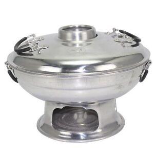 Tom-Yum-Thai-Food-SHABU-Pot-Hot-Korea-Party-Soup-Aluminium-Herb-Dish-22-Cm-Warm