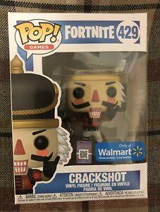 Detalles De Funko Pop Juegos Fortnite 429 Crackshot Producto Exclusivo De Walmart Cascanueces Navidad Ver Título Original