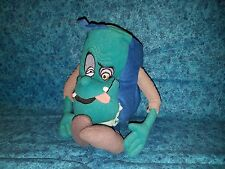"""Horror book scary Pagemaster Plush Applause 11"""" 1994"""