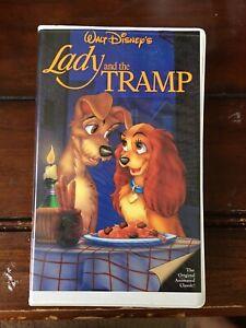 Walt Disney S Lady And The Tramp Vhs Movie Classic Black Diamond Edition Ex Cond 12257582031 Ebay