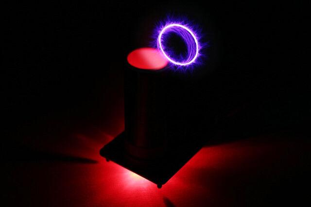 Mini - plasmasonic tesla - plasma.
