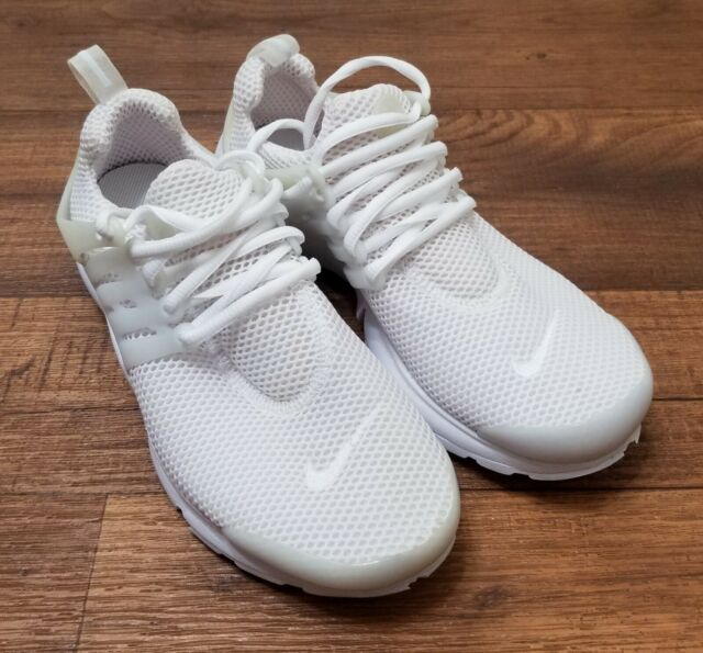 5af28a6db Nike Air Presto Triple White Essential Running Shoes 848132-100 Mens Size 6
