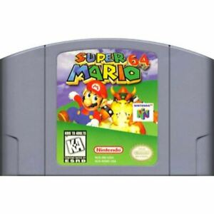 Super-Mario-64-Authentic-Nintendo-64-N64-Game-Cartridge-CLEAN-VG