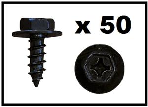 50 X Nero TOYOTA VITE CON RONDELLA