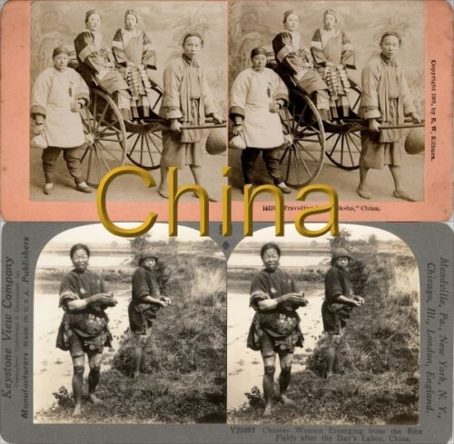 18 STEREOVIEWS CHINA PEKING Beijing 1900 Lot 1