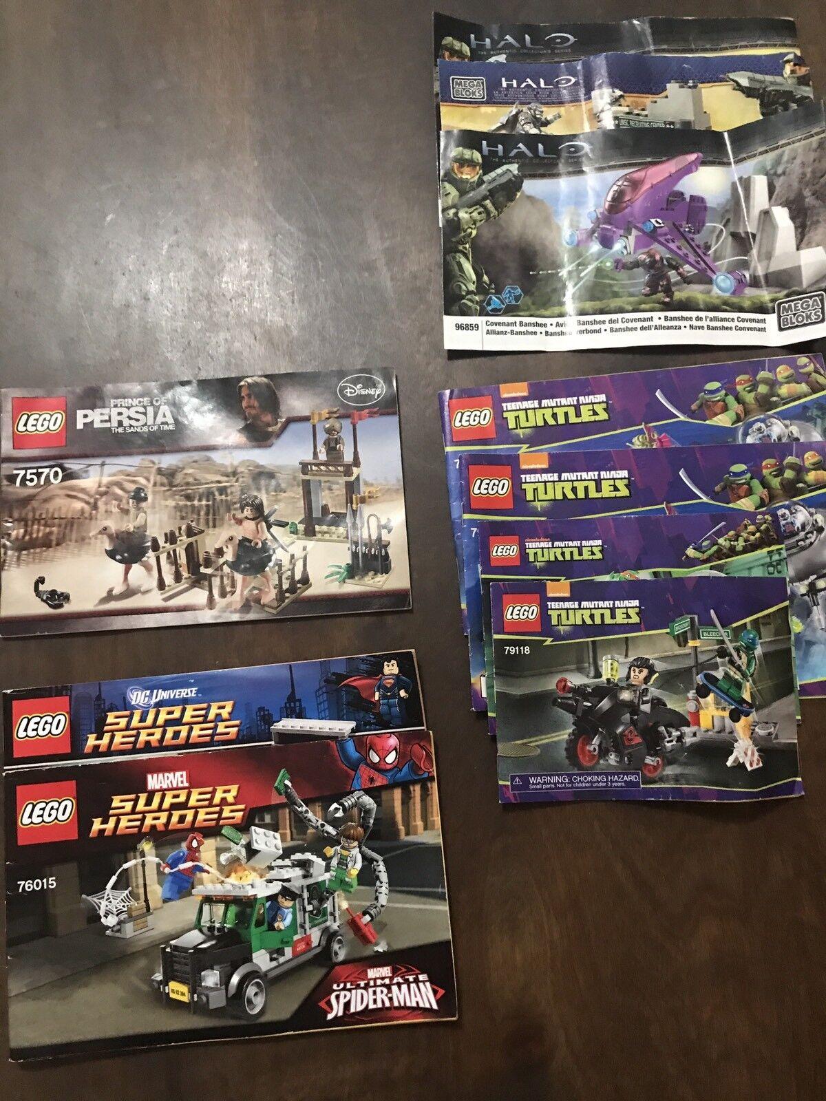 LEGO costruzione  sets estrella guerras Indiana Jones TMNT mini cifras sold separately  Spedizione gratuita per tutti gli ordini