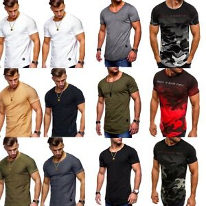 Slim fit o neck men/'s short sleeve summer casual tops muscle tee blouse t shirts