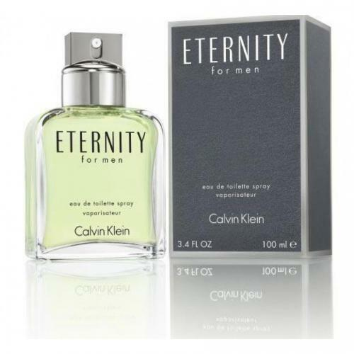 Eternity Cologne by Calvin Klein, 3.4 oz EDT Spray for Men NEW IN BOX
