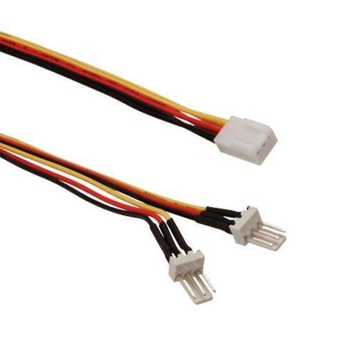 Kingwin PEC-05 12 inch 3P Male to 3P Female Fan Power Splitter Cable