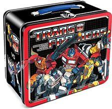 Aquarius Transformers Autobots vs Decepticons Large Tin Fun Box