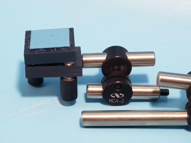 Newport Mca-2 Adjustable-angle Posts With Adjustable Laser Mirrors for sale online