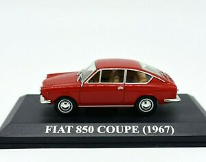 Model-Car-Fiat-850-Coupe-Coupe-Scale-1-43-diecast-modellcar-Static-Age