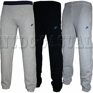 New-Mens-Nike-Fleece-Joggers-Tracksuit-Bottoms-Track-Sweat-Jogging-Pants