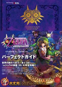 The-Legend-of-Zelda-Majora-039-s-Mask-3D-Perfect-Guide-Book-JAPAN