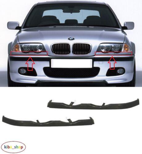 BMW Série 3 E46 1998-2001 NEUF front Projecteur Moulures Garniture gauche droit