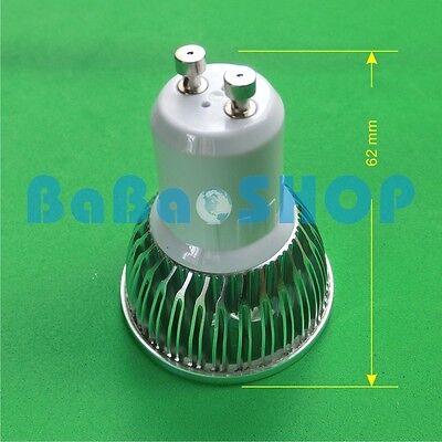 3W Full Spectrum UV Blue Red Cold Warm LED Light Spotlight E27 GU10 MR16 KIT H28