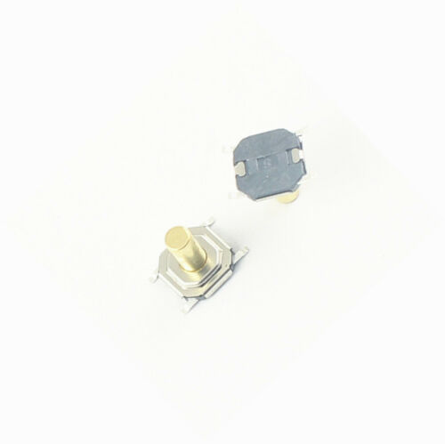 20 Pcs Momentary Tactile Tact Push Button Switch 4 Pin SMT SMD 5.2x5.2x5mm NEW