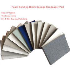 75100mm Foam Sanding Paper Sheet Sponge Sandpaper Abrasive Wetampdry Grinding Pad