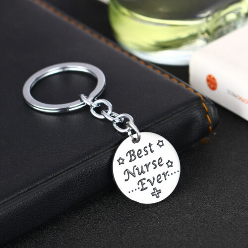 Keychain Gift For Nurse Medical Box Medical Keyring Needle Syringe Stethoscope