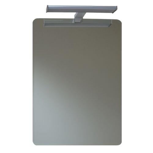 De haute qualité echtglasspiegel 70x50 cm avec facette et 8 W DEL