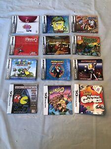 Nintendo-DS-amp-Gameboy-Advance-Manual-Lot-Of-12-Mario-Bombermam-Avatar
