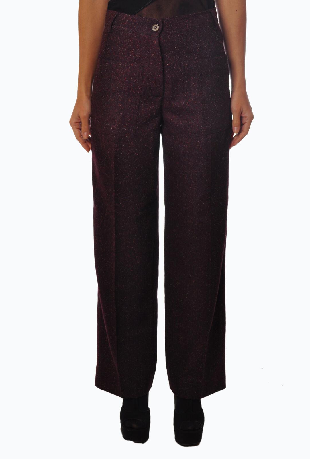 Ottod & 039;ame-Pantalones-Hembra-marrón -  2898301A184136  Nuevos productos de artículos novedosos.