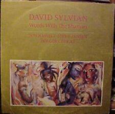 "David Sylvian Words With The Shaman Uk 12"""