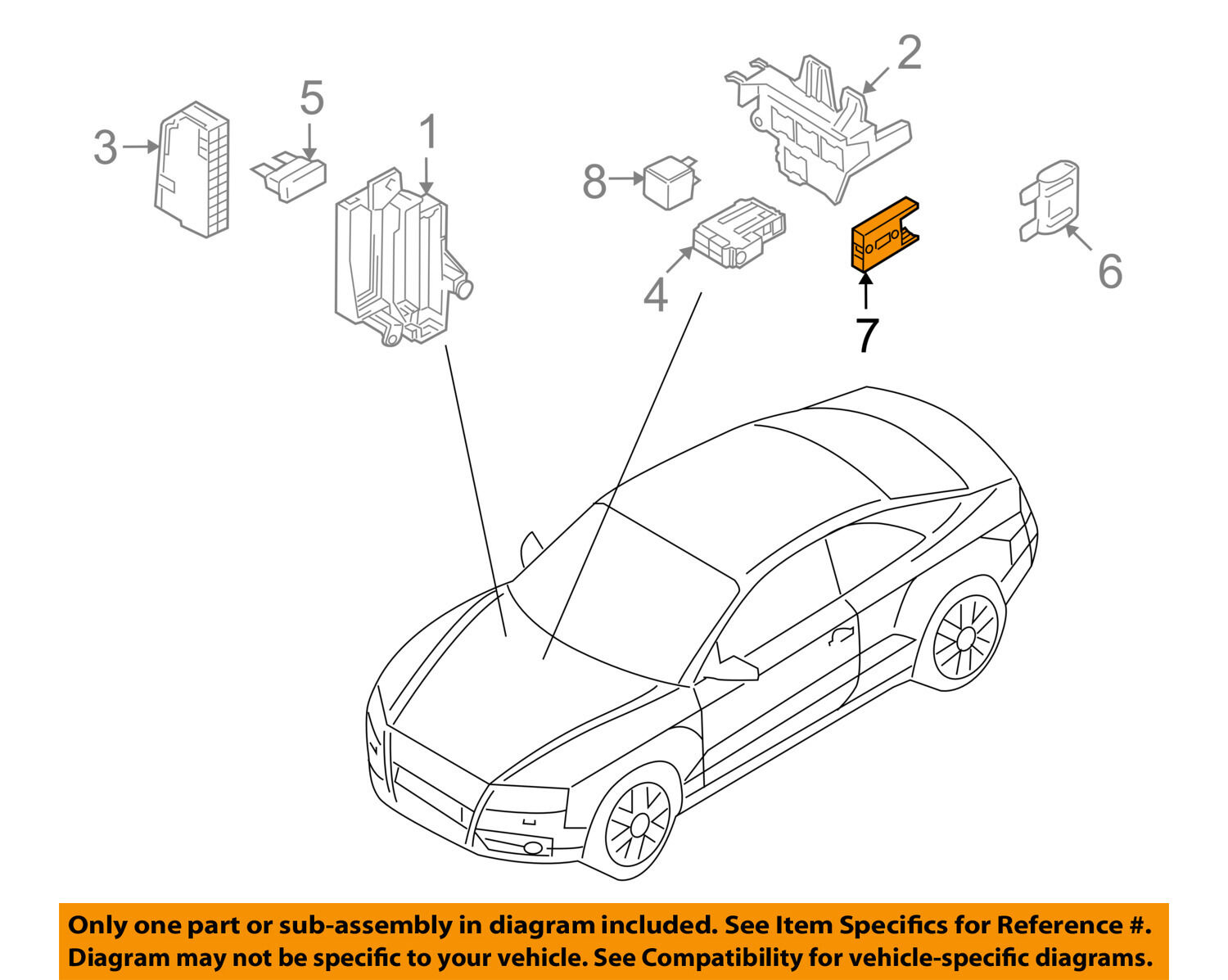Audi 8a0937530 Genuine Oem Factory Original Fuse Holder Ebay B7 Rs4 Box Norton Secured Powered By Verisign